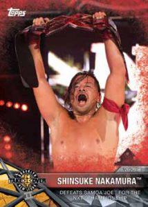 Base Matches and Moments Shinsuke Nakumura Defeats Samoa Joe
