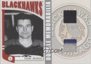 Double Memorabilia Frank Brimsek