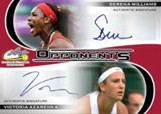 Dual Autographs Serena Williams, Victoria Azarenka