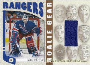 Goalie Gear Mike Richter