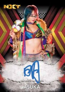 NXT Autographs Asuka