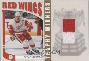 Trophy Winners Steve Yzerman