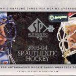 2003-04 SP Authentic Box