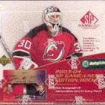2003-04 SP Game Used