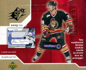 2003-04 SPx Box