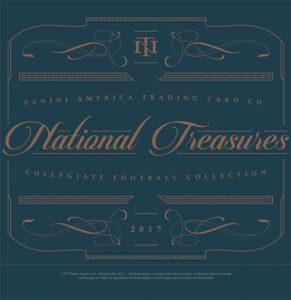 2017 National Treasures Collegiate Football
