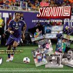 2017 Topps Stadium Club MLS Sell Sheet