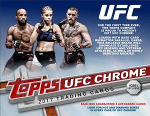 2017 Topps UFC Chrome