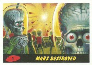 Base Mars Destroyed