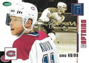 Captains Saku Koivu