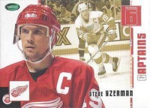 Captains Steve Yzerman