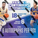 Contenders Draft Picks Baskett Ball Box