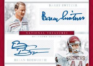 Dual Signatures Barry Switzer, Brian Bosworth