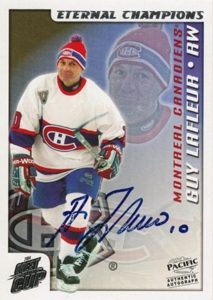 Eternal Champions Autographs Guy Lafleur