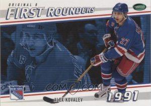 First Rounders Alex Kovalev