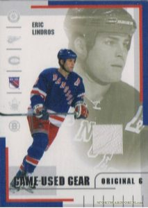 Game Used Gear Eric Lindros