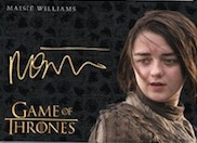 Gold Autos Maisie Williams as Arya Stark VL