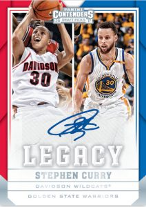 Legacy Signatures Stephen Curry