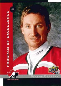 Program of Excellence Retro Wayne Gretzky