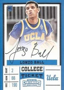RPS College Ticket Autographs Lonzo Ball