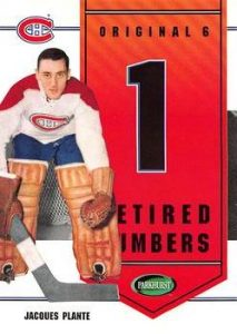Retired Numbers Jacques Plante