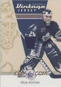 Retired Numbers Memorabilia Felix Potvin