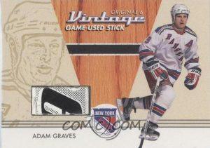 Retired Numbers Memorabilia Adam Graves