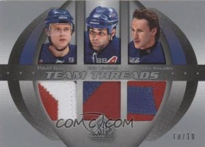 Team Threads Pavel Bure, Eric Lindros, Alex Kovalev