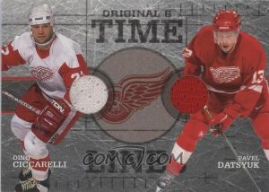 Time Lines Dino Ciccarelli, Pavel Datsyuk