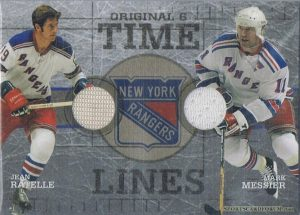 Time Lines Jean Ratelle, Mark Messier