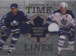 Time Lines Mike Gartner, Gary Roberts