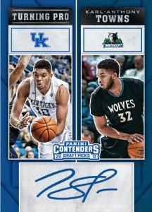 Turning Pro Autographs Karl-Anthony Towns