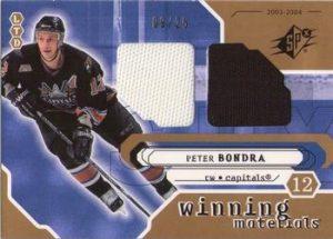 Winning Materials Limited Peter Bondra