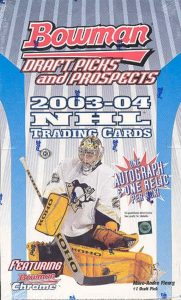 2003-04 Bowman Draft Picks and Prospects