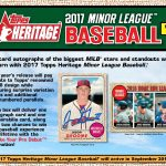 2017 Topps Heritage Minor League