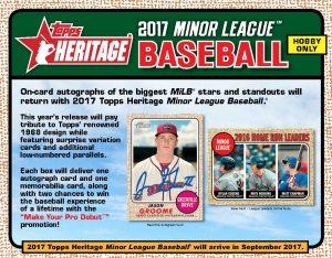 2017 Topps Heritage Minor League