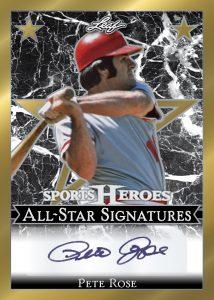 All-Star Signatures Pete Rose