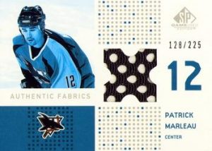Authentic Fabrics Patrick Marleau