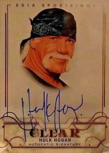 Flashback 2016 Sports Kings Clear Hulk Hogan