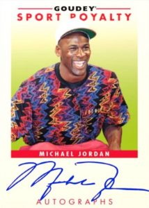 Goudey Sport Royalty Autos Michael Jordan