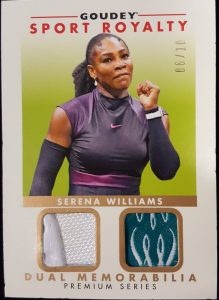 Goudey Sport Royalty Dual Mem Premium Serena Williams