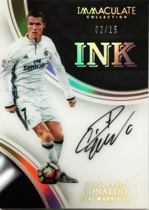 Ink Autgraphs Cristiano Ronaldo