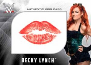 Kiss Card Becky Lynch