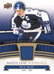 Maple Leaf Materials Rick Vaive