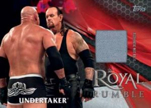 Royal Rumble Mat Relics Undertaker