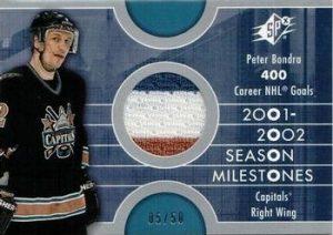 Season Milestones Silver Peter Bondra