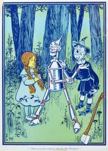The Wonderful Wizard of Oz Illustration Relics