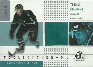 Tools of the Game Glove Teemu Selanne