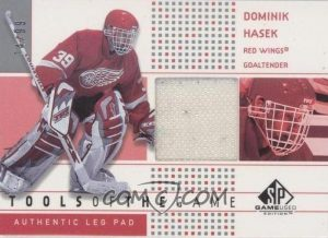Tools of the Game Leg Pad Dominik Hasek