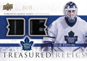 Treasured Relics Felix Potvin
